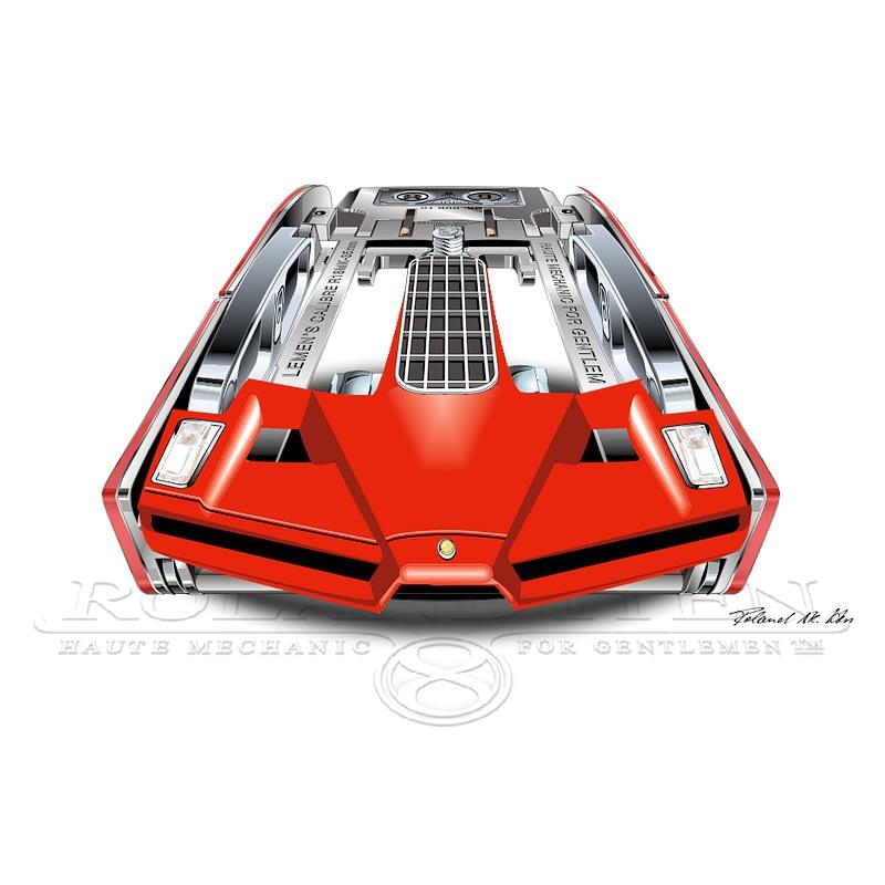 R18 Superdriver, Enzo Ferrari Emotion